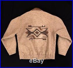Pendleton High Grade Western Wear Mens L Large Aztec Native Wool Jacket Coat