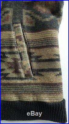 Pendleton High Grade Western Wear Mens Wool Jacket Size XL Aztec Native Indian