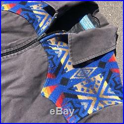 Pendleton High Grade Western Wear Native American Jacket Mens Small Aztec