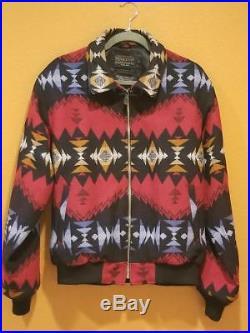 Pendleton Men's Western Santa Fe Sky Fire Aztec Jacket Wool M