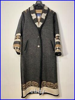 Pendleton Native Jackets Santa Fe Native Wool Blanket Coat Size Small