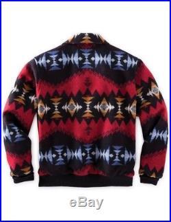 Pendleton Western Jacket Mens Santa Fe Aztec Print Wool DK447