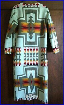 Pendleton Women's Chief Joseph Harding Wool Coat Native American Indian USA LE