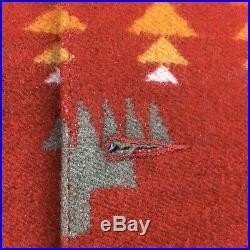 Pendleton Wool Blend Indian Blanket Western Lines Vest Size 48