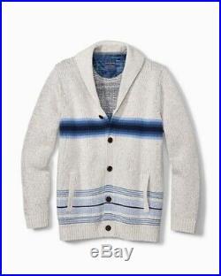 Pendleton x Tommy Bahama Western Wear Blanket Coat Jacket Cardigan Sweater XL