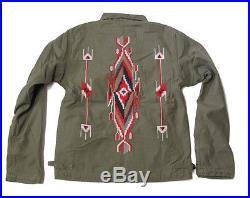 e8d2d8952c1bb5 Polo Ralph Lauren Denim   Supply Mens Western Indian Tribal Slim Jacket Coat