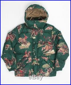 Polo Ralph Lauren Men's Down Puffer Jacket Coat Colorado Cowboy Green XL