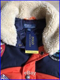 Polo Ralph Lauren Western Puffer Vest Size M