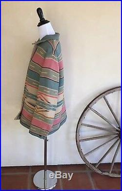 RALPH LAUREN Indian Blanket Southwestern Western Cowboy Clavos Buttons Jacket L