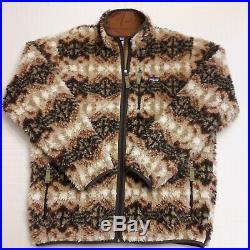 RARE PATAGONIA RETRO-X DEEP PILE Cardigan Jacket XL Thick Zip Western Navajo