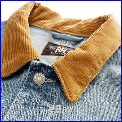 RRL Ralph Lauren 25th Anniversary Ranch Denim Jacket Men's M Medium NWT