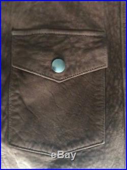 RRL by Ralph Lauren Vintage Suede -Western Style Jacket -Medium