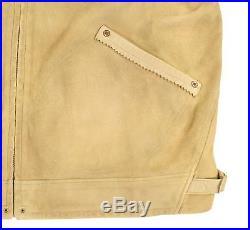 Ralph Lauren RRL Western Suede Leather Jacket New $1800