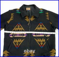 Rare Pendleton Southwestern Aztec Wool Western Jacket/Coat-Men's L, Western Wear