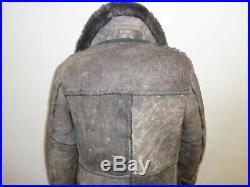 Rare! Stratojac Shearling Sheepskin Marlboro Man Rancher Western Coat42/lg