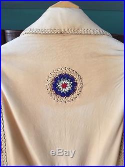 Ren Ellis Handcrafted Mens'Beaded' Western Jacket