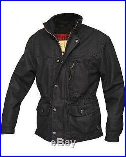 STS Ranchwear Smitty Western Ranch Jacket Wool Black Brown Med Large XL 2XL