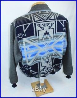 SUPERB Vintage PENDLETON High GRADE WESTERN Wear WOOL BLANKET COAT NAVAJO JACKET