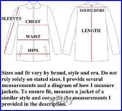SUPERB Vintage Pendleton High Grade Western Wear Blanket Coat USA Men's 42