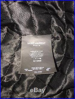Saint Laurent Men's Leather Western Jacket