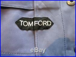 Tom Ford suede leather iconic Western Jacket 52R