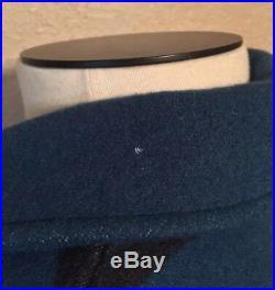 VINTAGE Pendleton High Grade Western Wear Wool Blanket Jacket Coat Navajo Medium