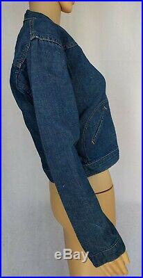 VTG Blue Bell Wrangler Denim Jacket Size 18 USA Western Coat Cowboy Selvedge