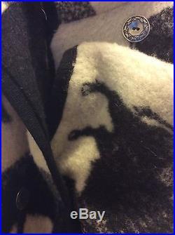 VTG Joyce Onarheim Boe Legacy Collection Womens Western Buffalo Coat Wool Large