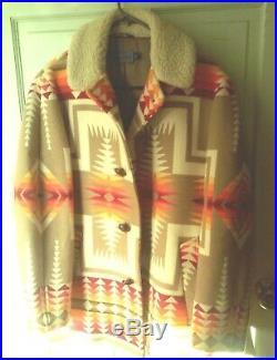 VTG Pendleton American Top Grade Western Wear Mens Jacket Navajo, Aztec Size 40