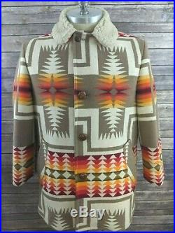 VTG Pendleton Beaver State High Grade Western Wear Mens Jacket Aztec Size 2XL