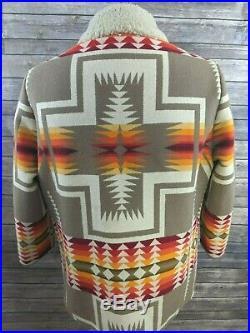 VTG Pendleton Beaver State High Grade Western Wear Mens Jacket Aztec Size XL