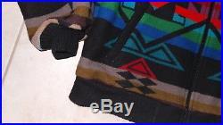 VTG Pendleton High Grade Western Wear Mens Coat Jacket Aztec Native Indian Sz XL