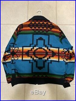 VTG Pendleton High Grade Western Wear Mens Jacket Aztec Native Indian Size L