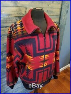 VTG Pendleton High Grade Western Wear Mens Jacket Blanket Bomber