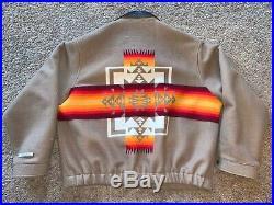 VTG Pendleton High Grade Western Wear Native Blanket Mens Coat Jacket XXXL 3XL