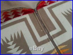 VTG Pendleton Jacket Western Wear High Grade Wool Aztec Native Tribal Navajo L