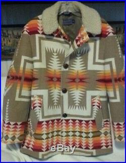 VTG Pendleton NICE High Grade Western Wear Mens Jacket Aztec Size 40 USA made