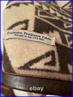 VTG Pendleton Woolen Mills Tribal High Grade Western Wear Wool Coat Jacket Sz L