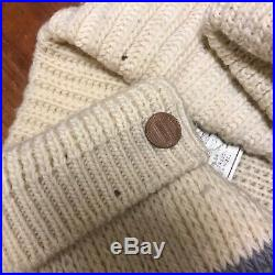 VTG Wool Pendleton High Grade Western Wear Cowichan Jacket L Lebowski USA Coat