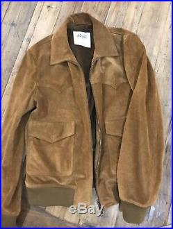Valstar Clint Western Suede Jacket Size EU48