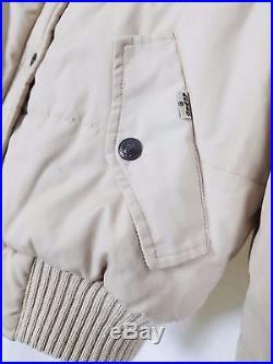 Vintage 80s Levis Puffy Corduroy Western Jacket Parka Vest Womens L Rockabilly