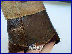 Vintage Gucci Tom Ford era Mens glove leather applique jacket US size 36 regular