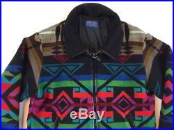 Vintage High Grade Western Wear Pendleton Jacket Large Native Made In USA Wool