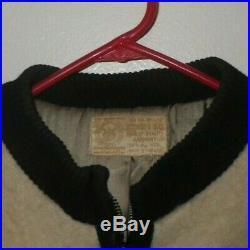 Vintage Hudson Bay Co. Wool Jacket Blanket 4 Colored Stripe Womens like Pendleton