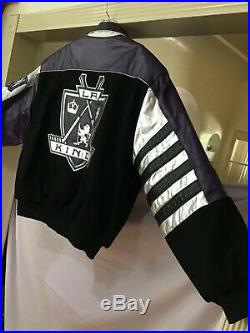 Vintage L. A. KINGS Hockey JACKET Sport Coat WESTERN NHL CONFERENCE Los Angeles L
