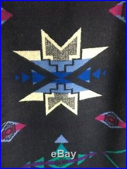 Vintage Mens PENDLETON Knockabouts Western Wear Tribal Aztec WOOL Jacket
