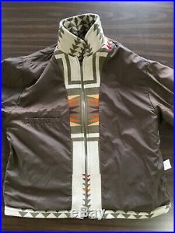 Vintage Mens Pendleton High Grade Western Wear Jacket Size XL Nez Perce design