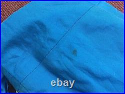 Vintage Nike Acg Jacket Large Blue Neon Black Raincoat Snowboarding Skiing Coat