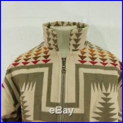 Vintage PENDLETON Aztec Western Southwestern Navaho Wool Jacket Coat Large Mens