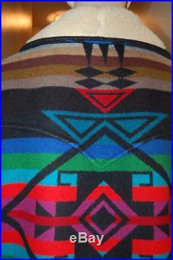 Vintage PENDLETON High Grade WESTERN WEAR Navajo SOUTHWEST Chief Joseph Coat 40